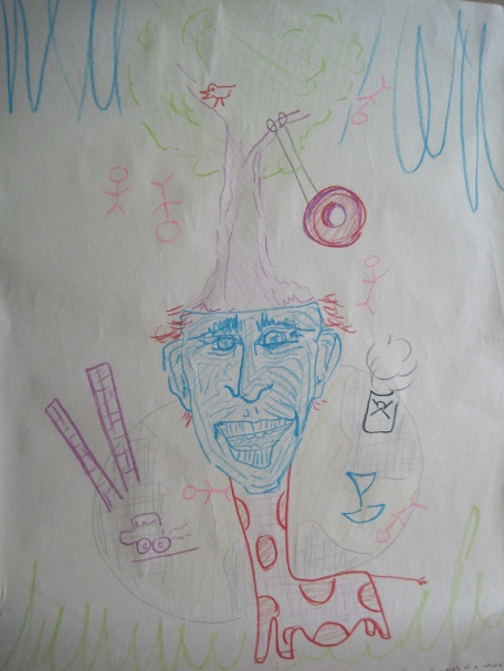 Sustainable Community Drawing Self System Drawing by