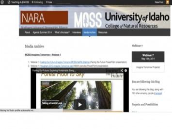 Figure 1: Webinar media archive