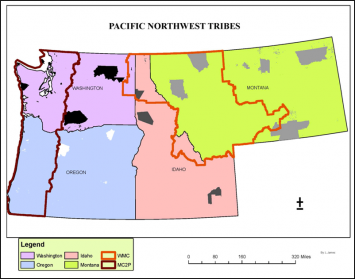 Those tribal reservations are identified on the map below (FIGURE 1).