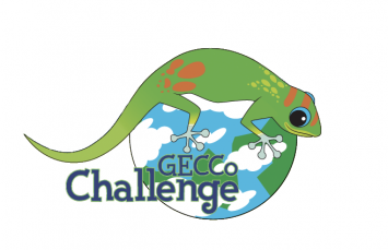 Figure 2. Extensive use of the GECCo gecko created a unified program identity across all  patches and activities.
