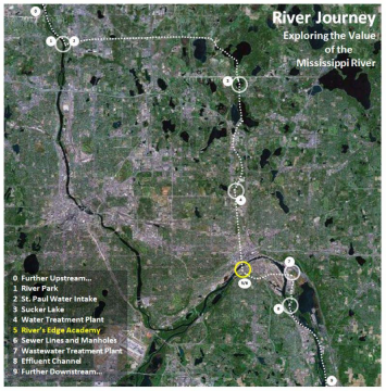 Figure 3. River Journey Map