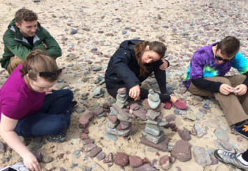 Environmental Study of Sustainable Places, Llansteffan Wales