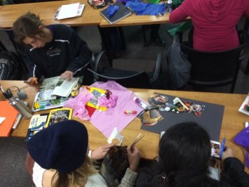Photo 1: Collaborative Collages and Contradictions of Sustainability
