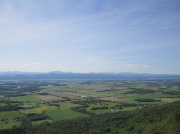 The Champlain Valley of Vermont, viewed from Snake Mountain.  Photo by Joseph Witt.